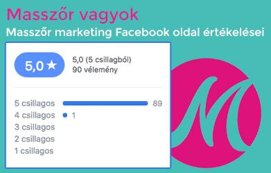 Masszőr vagyok masszőr marketing Facebook oldal értékelései